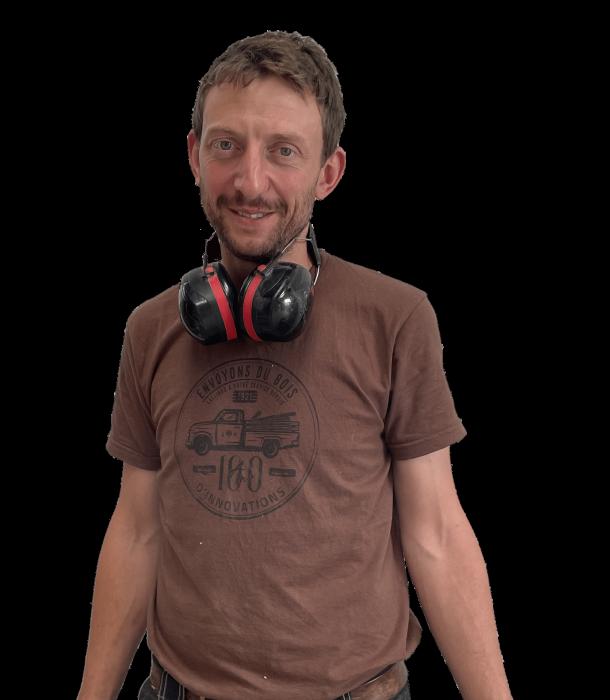 Mathieu Jacquier artisan menuisier à son compte